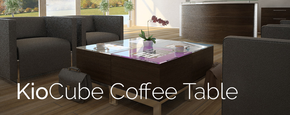 Kiocube Interactive Coffee Table Touch Screen Table