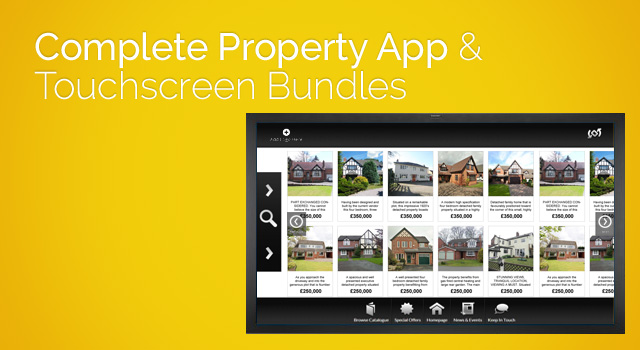 Complete Property App & Touchscreens for estate agents