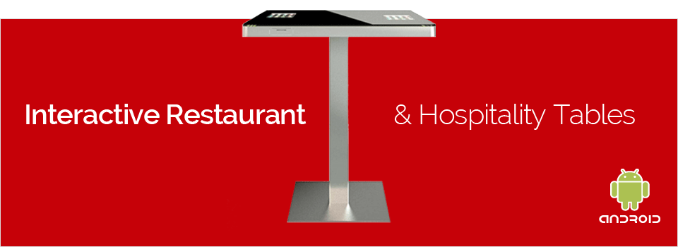 Interactive Restaurant & Hospitality Tables