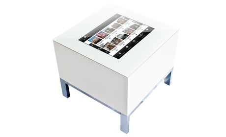 Touchscreen table hire