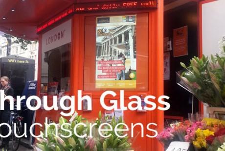 Through-Glass-Kiosk-Touchscreen