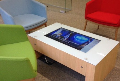 Multi touch table for offices, receptions.